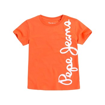 Pepe Jeans London - Waldo Short - T-shirt manches courtes - orange