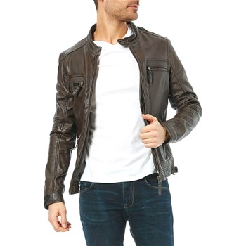 Oakwood - Casey - Veste en cuir - marron