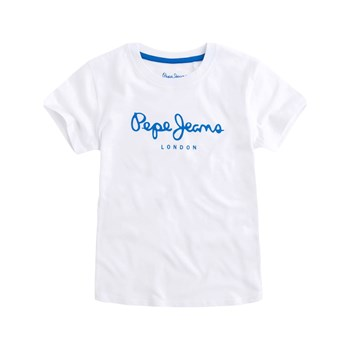 Pepe Jeans London - Art - T-shirt manches courtes - blanc