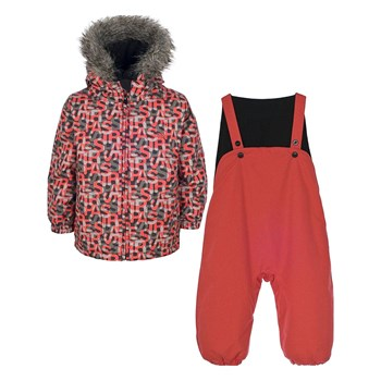 Trespass - Poppet - Jumpsuit + windjack - koraalrood