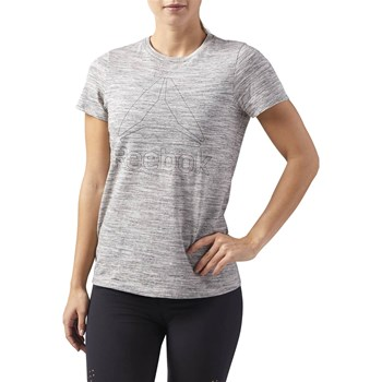Reebok Performance - T-shirt manches courtes - gris