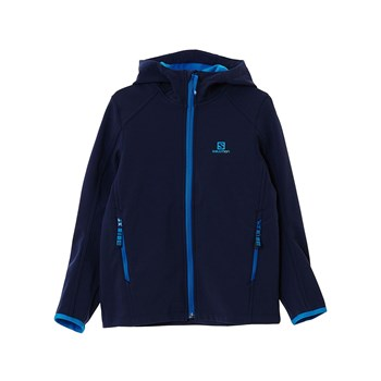 Salomon - Junin - Jacke - blau