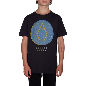 Volcom - Cracked - T-shirt manches courtes - noir