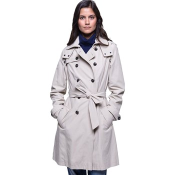 Trench and coat - Trench à capuche amovible - beige