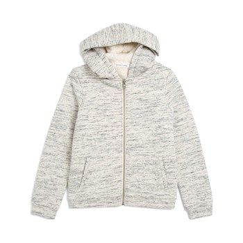Monoprix Kids - Sweat à capuche - ecru