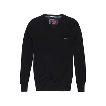 Superdry - Orange Label - Pull - noir