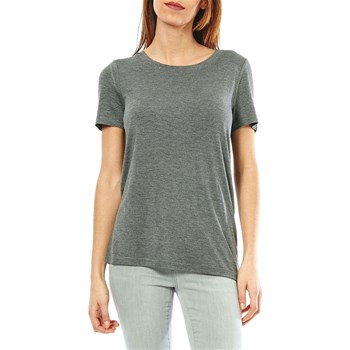 Noisy May - T-shirt manches courtes - gris