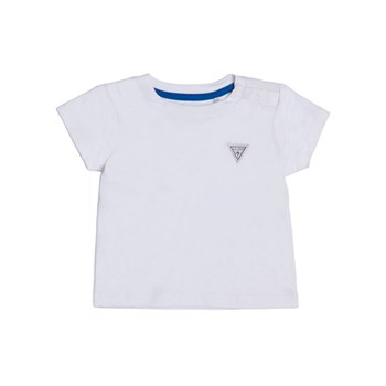 Guess Kids - Ensemble t-shirt et salopette - blanc