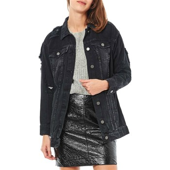 Noisy May - Veste en jean - noir