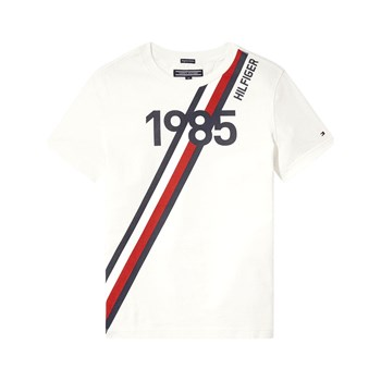 Tommy Hilfiger - Ame Global - T-shirt manches courtes - blanc