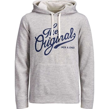 Jack & Jones - Sweat à capuche - gris