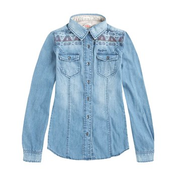 Pepe Jeans London - Jane - Camicia in jeans - blu jeans