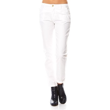 Best Mountain - Pantalon chino - blanc