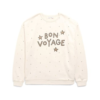 Monoprix Kids - Sweat imprimé - ecru
