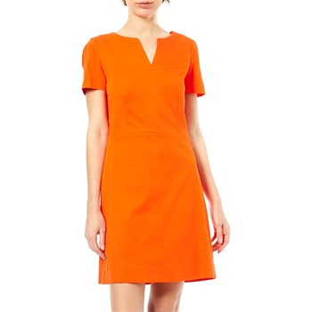 Caroll - Robe Droite - orange