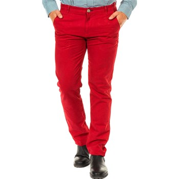 McGregor - Pantalon chino - rouge