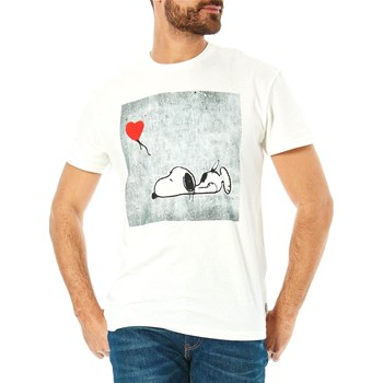 Jack & Jones - Snoop - Camiseta de manga corta - blanco