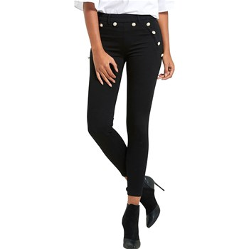Morgan - Pantalon slim officier - noir