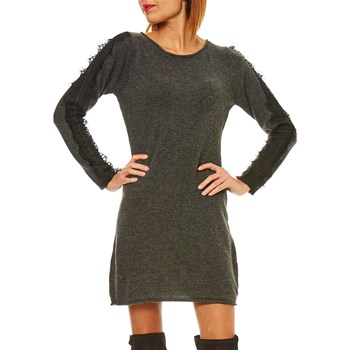 Maille Love - Vestido - gris oscuro