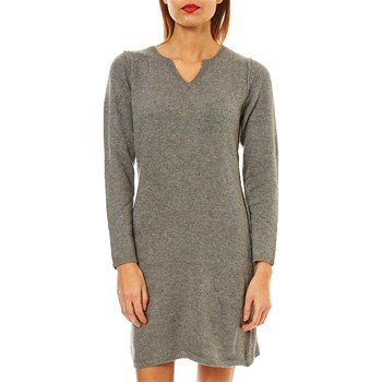 Maille Love - Robe pull 15% laine, 10% cachemire, 10% angora - gris clair