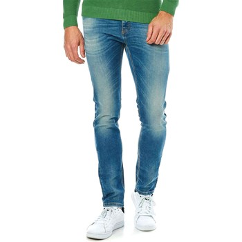 Benetton - Jean slim - denim azul