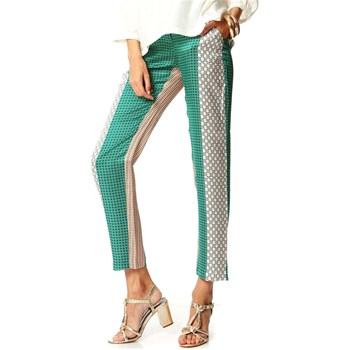 Paul & Joe - Pantalon en soie - multicolore