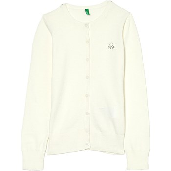 Benetton - Strickjacke - weiß