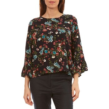 Only - Bluse - gemustert