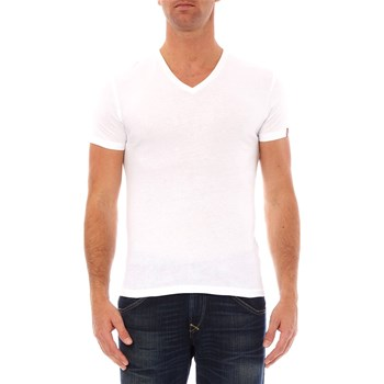 Levi's - Vneck - Set van 2 T-shirts - wit