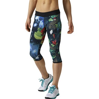 Reebok Performance - Legging de sport pour fitness et crossfit - multicolore