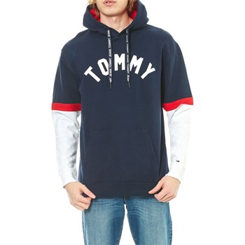Tommy Jeans - Sweat à capuche - noir