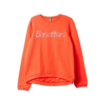 Benetton - Sweatshirt - orange