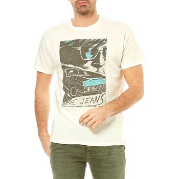 Pepe Jeans London - Agger - T-shirt manches courtes - blanc