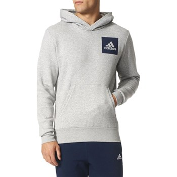 adidas Performance - Sweat à capuche - gris clair