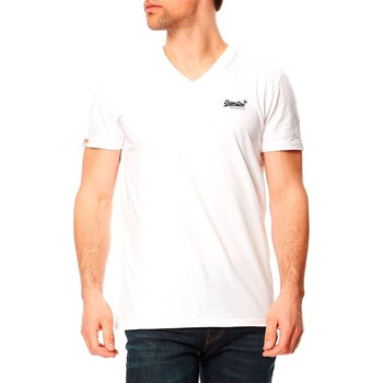 Superdry - T-shirt manches courtes - blanc