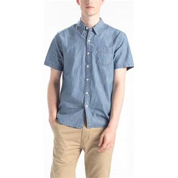 Levi's - Sunset 1 pkt - Camicia in jeans - blu jeans