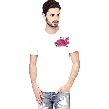 Guess - T-shirt manches courtes - blanc