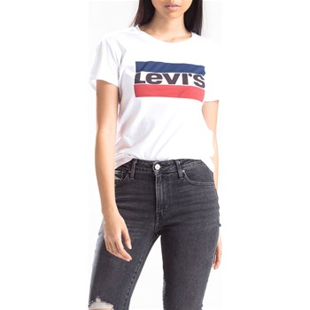 Levi's - The perfect tee - T-shirt manches courtes - blanc