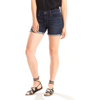 Levi's - Mid length - Short - denim bleu