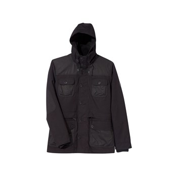 Somewhere - Chovia - Parka - noir