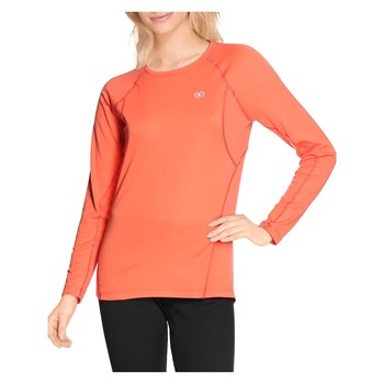 Damart Sport - Easy Body - T-shirt manches longues Thermolactyl Degré 4 - corail