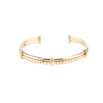 Luma Jewels - Erin - Bracelet jonc - or