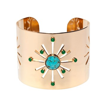 Luma Jewels - Lula - Bracelet manchette - or