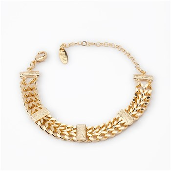Luma Jewels - Jonah - Bracelet gourmette - or