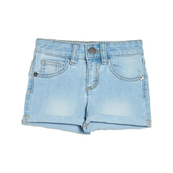 Benetton - Short - denim azul