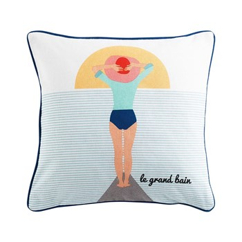 Ifilhome - Coussin carré - multicolore