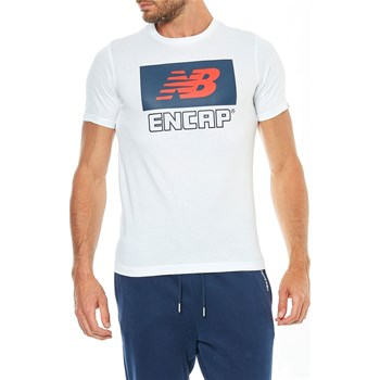 New Balance - T-shirt manches courtes - blanc