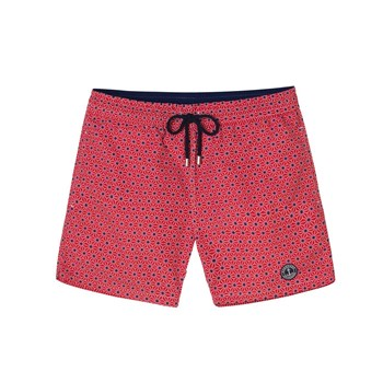 Europann - Tao Junior - Short de bain imprimé - rouge