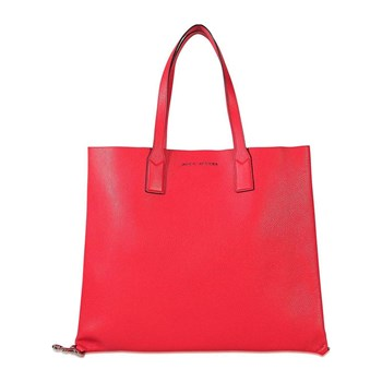 Marc Jacobs - Shopping Bag aus Leder - fuchsienrosa