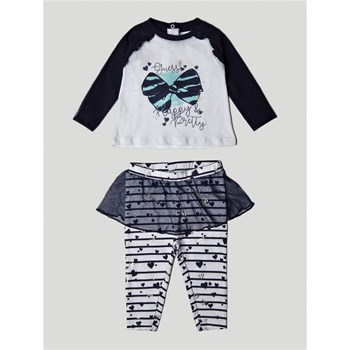 Guess Kids - Ensemble T-shirt et legging - blanc